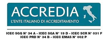 ACCREDIA - italian accreditation body